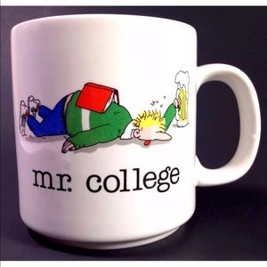 Me. College Funny Coffee Mug Cup Beer Party Study